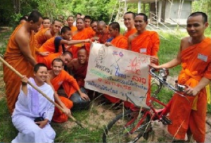 The Dhamma Sanchorn Monk Network engages Buddhism for promoting ethics and education of the heart.