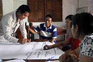 Institutional strengthening for emerging organizations.